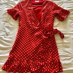 Polka dot Mini Sun Dress